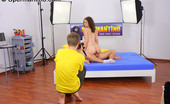 Spermantino Harley A Curly Haired Teen Shoots Her First Porn