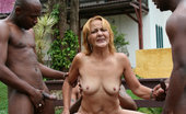 Bizarre Mature Sex Horny Mature Antonia Gets Banged By 3 Black Dudes