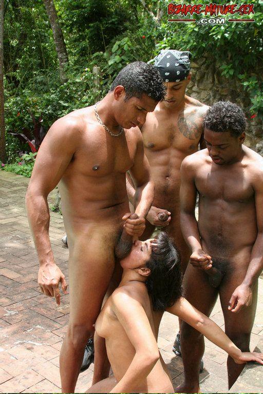 Bizarre Mature Sex Kinky Mature Interracial Gang Bang Sex 451130 - Good Sex  Porn