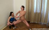 Lesbian Sport Videos 451672 Lesbian Trainer Fucks Her Exhausted Bubbied Trainee