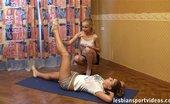 Lesbian Sport Videos Nude Lesbian Gymnastics For A Busty Fatty