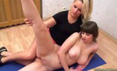 Lesbian Sport Videos 451829 Juicy Lesbian Nude Yoga And Gymnastics