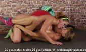Lesbian Sport Videos Flexible Girl Obeys Her Lesdom Fitness Instructor