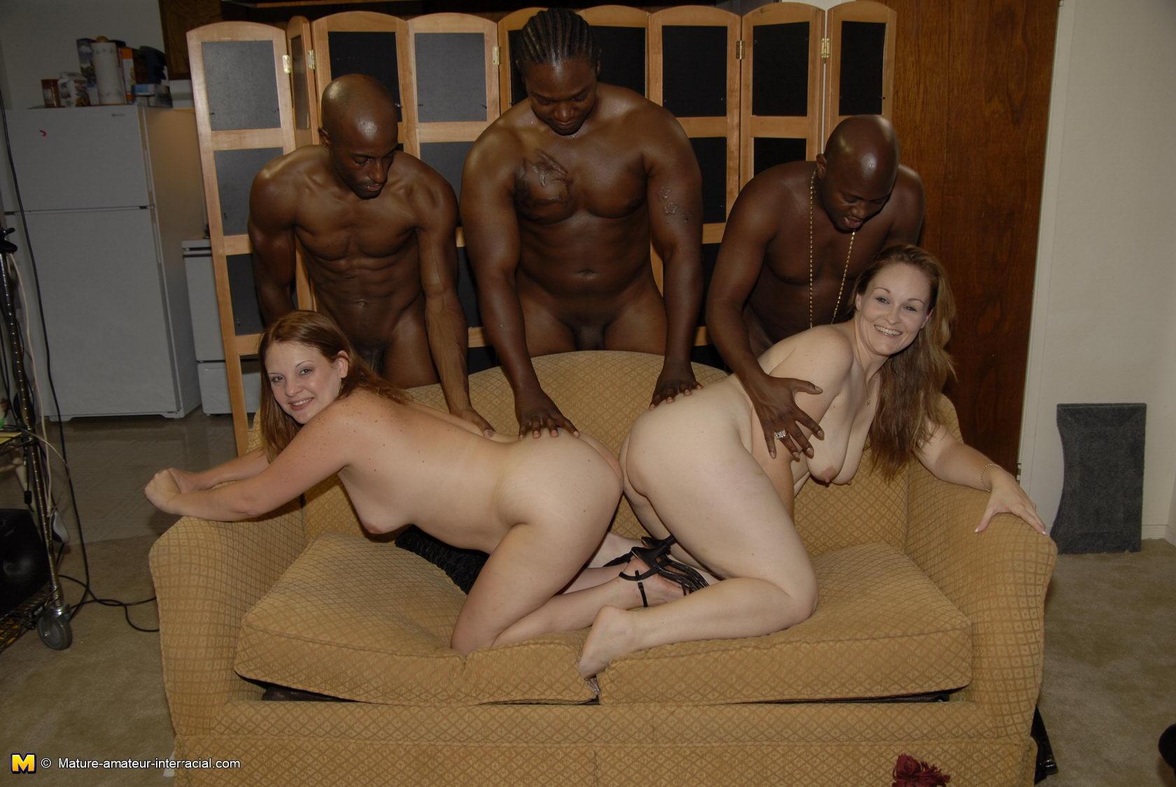 free mature amateur interracial sex