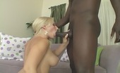 Lethal Interracial Sammie Spades & Nathan Threat Curvy Blonde Stuffed With A Black Rod