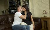 Joy Bear Mira Couple Sex Lovely Girl Mira Ridding Her Boyfriend On The Sofa