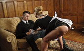 Joy Bear Cathy Heaven Hot Cathy Gorgeous Blonde Maid Seducing The Security Guard