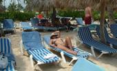 X Nudism Two Skinny Nudist Teens Frolic Around The Beach