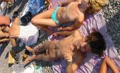 X Nudism Barely Legal Young Nudist Lays Naked At The Beach