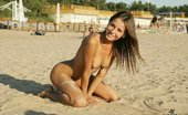 X Nudism Watch This Young Nudist Play Nude In The Warm Sand
