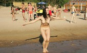 X Nudism 453500 This Teen Nudist Has Dance Fever At The Nude Beach