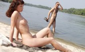 X Nudism Pin Up Teen Shows Off Her Body At The Nude Beach
