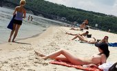 X Nudism Hot Teen Nudists Make This Nude Beach Even Hotter