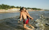 X Nudism Naked Teen Nudist Lets The Water Kiss Her Body
