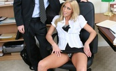 XXX At Work XXX At Work Casey Young & Steve Taylor Cute Blonde Co Ed Bouncing Up And Down On A Hard Dick