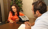 XXX At Work XXX At Work Gracie Glam & Sasha Dark Haired Sexpot Puts Out To Get Her Dream Job