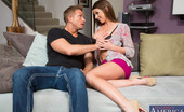 My Friend's Hot Girl Brooklyn Chase Brooklyn CHase Fucks Her Boyfriends Good Friend And Loves Riding His Cock On The Couch.