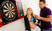 My Friend's Hot Girl 455386 AJ Applegate AJ And Johnny Are Playing A Game Of Darts And Johnny Is Handing Her Ass To Her. AJ Claims Her Boyfriend Can Take Johnny Without Any Problem. Johnny Makes A Small Wager For His Next Throw That If He Wins He Gets To Fuck Her In The Ass! Johnny