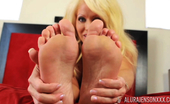 Alura Jenson XXX Alura Jenson In Footsie Fun 2 Well Baby I Know How Much You Enjoyed My Feet The Last Time,