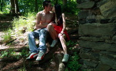 Teen Dorf Karolina & Daniel In The Ruins Outside Of Dorf, These Teens Are All Alone And Soon Exploring Each Others Barely Legal Bodies. It`S Only A Matter Of Time Before The Hardcore Action Starts.