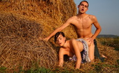 Teen Dorf Branislava & Aleksej Behind A Large Bale Of Hay, These Teens Are Out Of Sight And Able To Do Whatever They Want. Of Course For These Horny Teens That Means Lots And Lots Of Hardcore Sex.