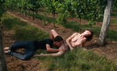 Teen Dorf Irenka & Karol In Between Rows Of Growing Plants, These Two Teens Take Care Of Each Others Sexual Desires. She Can`T Wait To Have Him. She Needs Him Right Now And Right There.