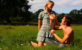Teen Dorf Dominika & Filip The Soft Green Grass Is The Bed For These Horny Teens Today. They Use It Like A Bed In The Bedroom, A Perfect Place For Their Sexual Desires To Be Unleashed.
