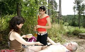 Old Couple Fuck Teen Julia (II) & Michelle (II) & Richi Threesome Face-Sitting Picnic Nubile Slut Spots An Older Couple Enjoying Oral Sex On A Blanket And Joins The Fun For Some Hot Three-Way Fucking
