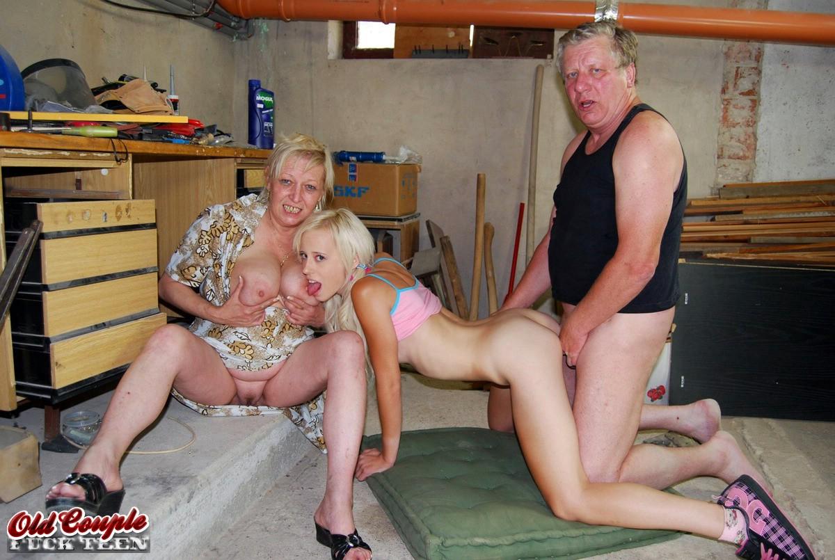 senior couple porn ... Eva (III) & Mirek (III) & Teena Fix This, ...