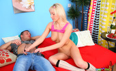 Bang My Teen Ass Blonde Anal Sex They Drank Some Champagne And Suddenly Felt Strong Desire To Have Nice Ass Banging. Handsome Fellow Caresses Wonderful-Looking Body Of His Sex Appeal Girlfriend Tenderly, Takes Off Her Pink Tank Top, White Skirt And Sexy Panties, Gets His