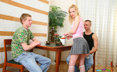 Bang My Teen Ass 457488 Teen Threesome Fucking It Is Always Exciting To Stare At Teen Hotties Getting Double Penetrated By Two Hugecocked Handsome Pals And You Will Realize That It Is Absolutely Truth After Checking Out These Amazingly Hot Photos. Blonde Girlie In White Stocking