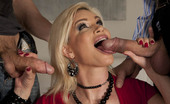 Hottest MILFs Ever Diamond Foxxx They Say That Diamonds Are A Girl'S Best Friend, But Diamond Foxxx Is A Pretty Good Friend To Men, Too. Just How Friendly Is She? Friendly Enough To Take Two Massive Cocks Deep Inside Her, And To Swallow Every Drop Of The Big Cum Loads That