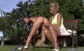 His Mommy Mom Does Sons Gf Outdoors A Sunny Day On A Sports Field Ended In Guys Mom Fucking His Own Girlfriend