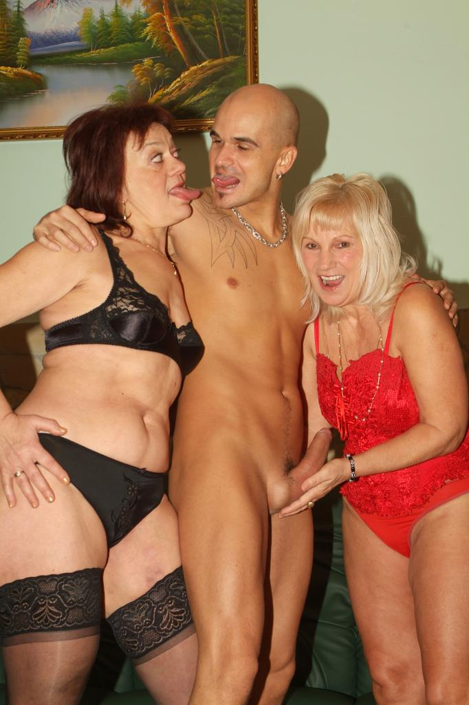 3way with two cuties and one big black cock 10