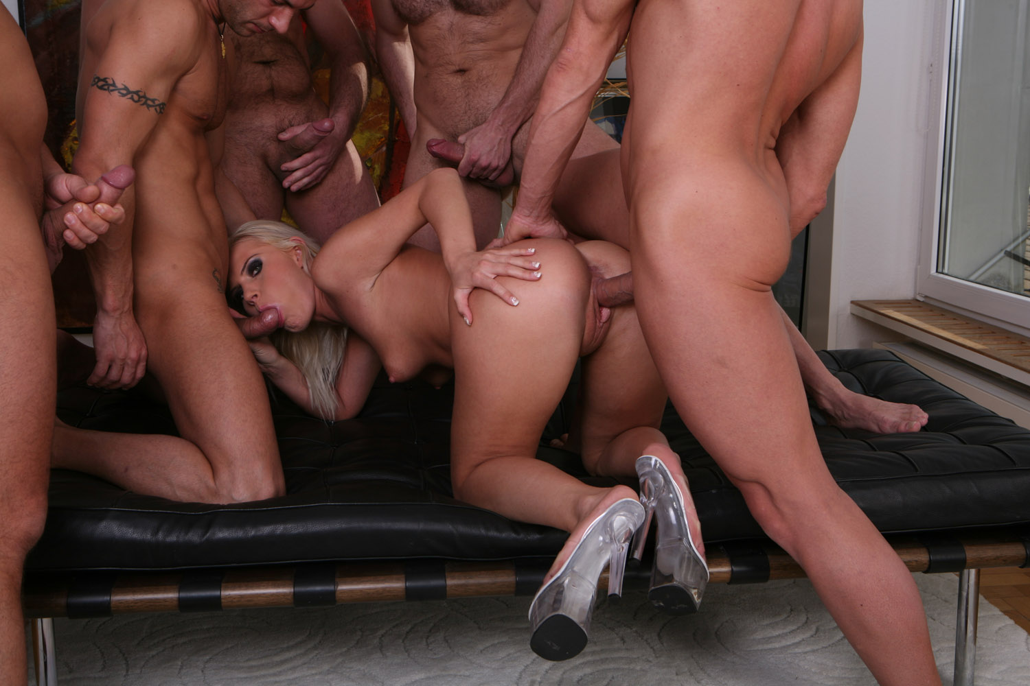 gangbang video dildo shop