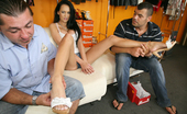 Footville 458843 Footville Amazing Long Leg Regina Gets Hit On By The Shoe Store Clerk And Agrees To Get Fucked By 2 Guys In These Hot Power Fucking 3some Fuck Pics