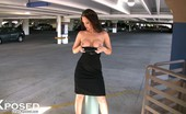 Aziani Xposed Nikki Nova Stunning Nikki Nova Has Fun Exposing Her Amazing Body In A Public Garage!