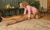 Stunning Matures Gloria & Morris Nasty Mom Rubbing Her Crotch And Getting To Numbers Game With A Service Man