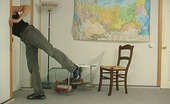 Stunning Matures Ophelia & Marcus Sexy Mature Tutor And A Lewd Guy Ending Their Lesson Screwing On The Floor