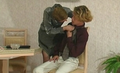 Stunning Matures Alice & Tobias Lascivious Milf Revealing Her Skills In Sucking And Fucking Right On Floor