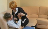 Stunning Matures Christina & Jerry Sizzling Hot Mature Chick Mastering Her Fucking Skills Right In The Office