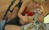 Stunning Matures Susanna & Felix Randy Mature Chick Getting New Sensation While Cowgirl Riding On Stiff Rod