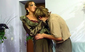 Stunning Matures Helena & Rolf Lusty Mature Gal Pulling Up Her Skirt For Wild Muff-Diving And Hard Fucking