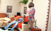 Stunning Matures Mia & Lewis Sex-Crazy Mature Chick Rubbing Her Itchy Twat While Gobbling On Rocky Shaft