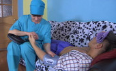 Stunning Matures Elsa & Govard Cock-Hungry Mature Nurse Getting To Sizzling Scoring With A Younger Patient