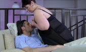 Stunning Matures Caroline Chubby Mom Makes A Boy Lick Her Big Jugs Before Sucking And Tit Fucking Him