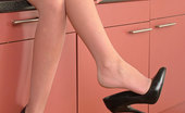 Stiletto Tease Leanne Introduces You To Her Style Of Leggy Fetish Temptation, As You Gaze At Her Long Beautifully Shaped Legs And High Thin Five And A Half Inch Heels. She Will Soon Bring You To That Point Of Exquisite Satisfaction At Her Heels