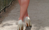 Stiletto Tease 460821 Michelle Wears High Heels And Has Her Perfect Balance And Poise No Matter How High The Heel. Her Wearing High Heels Has Had An Effect On Many Young Men, Turning Them On So Sexually And Making Them Stare At Her Shoes Until They Are Fully Satisfied