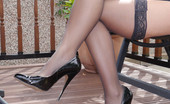 Stiletto Tease Amy Knows How High Heels Really Shape Her Legs And Cause Men To Look At Her, So Why Not Give In To Your Temptation And Worship Every Inch Of Her Lovely Heel Until You Are Fully Satisfied