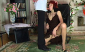 Matures and Pantyhose Madge & Mike Kickass Mature Chick Getting Her Ripe Twat Spread Through Silky Pantyhose